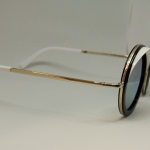 Cutler And Gross Modelo 1277-01 Gold Milky White lateral